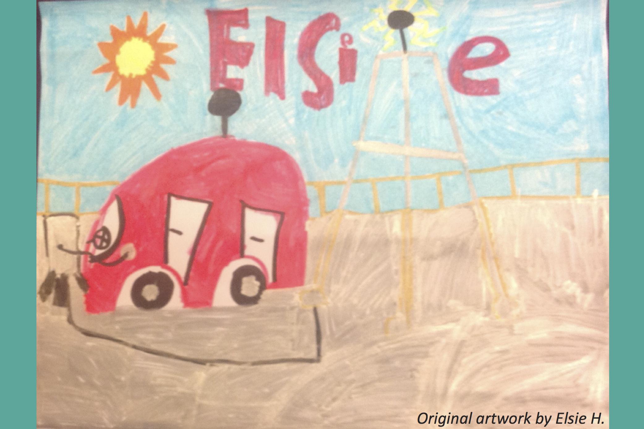 Elsie's Electric Car