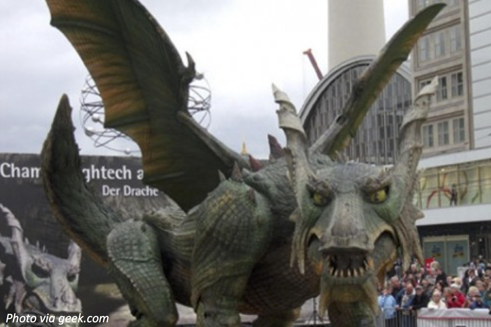 Giant Robotic Dragon